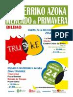 Udaberriko Azoka Egitaraua - Programacion Mercado de Primavera
