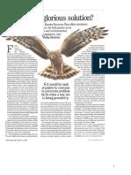 Hen Harrier Action Plan. Philip Merricks in Country Life