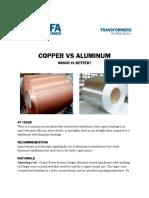 Copper vs Aluminum Cps