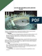 Umrah,Tawaf or Circumambulation Around Kaaba