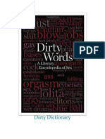 Dirty Dictionary