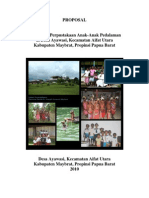 Perpustakaan Anak di desa Ayawasi, Papua