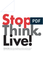 Stop Think Live