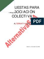Plataforma Alternativa