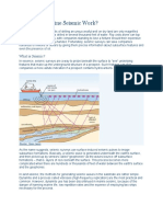 How Does Marine Seismic Work