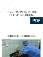 What Happens in the Operating Room