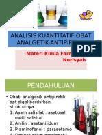 Analisis Kuantitatif Obat Analgesik-Antipiretik