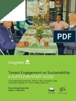 Tenant Engagement on Sustainability