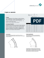 Pipes and Bends Data Sheet
