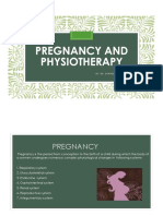 Pregnancy and Physiotherapy