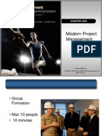 Chap001- Modern Project Management