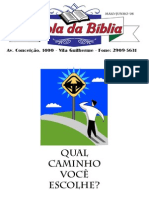 Boletim da Escola da Bíblia Maio/Junho