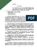 Anunt Co3ncurs Promovare Functii Conducere 27 Iunie 2014