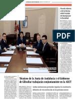 160309 La Verdad CG- El PSOE Promete Fluidez en La Verja Si Gobierna Aunque Triunfe El 'Brexit' p.9