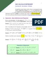 Calculus Basic