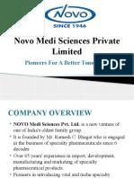 Novo Medi Sciences Pvt. Ltd.