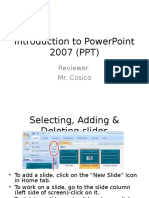 Powerpoint 2007 Instruction 2