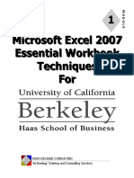 Uc Excel 2007 Module 1 Essentials3 (1)