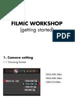 Filmic workshop PPT