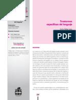 Trastornos específicos del lenguaje.AEPAP 2009