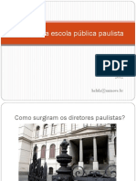 O Diretor Da Escola Pública Paulista