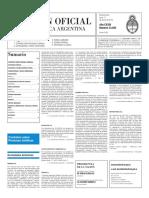 Boletín Oficial - 2016-01-11 - 2º Sección