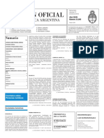 Boletín Oficial - 2016-01-13 - 2º Sección