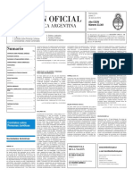 Boletín Oficial - 2016-01-21 - 2º Sección