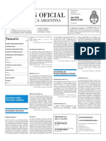 Boletín Oficial - 2016-01-22 - 2º Sección