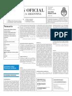 Boletín Oficial - 2016-01-26 - 2º Sección