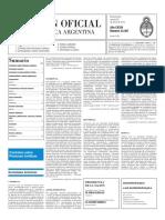 Boletín Oficial - 2016-01-29 - 2º Sección