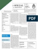 Boletín Oficial - 2016-02-03 - 2º Sección