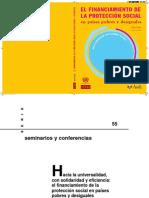 FinanciamientoProteccionSocial-Sojo2009
