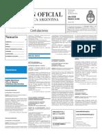 Boletín Oficial - 2016-01-22 - 3º Sección