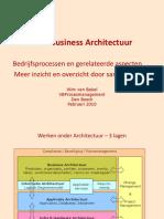Business Architectuur Model
