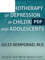 Psychotherapy of Depression in Children and Adolescents