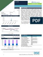 BSE Company Research Report - Centrum Capital Ltd