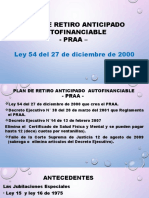 Plan de Retiro Anticipado Autofinamciable