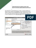 Manual de RAID Para Exchange