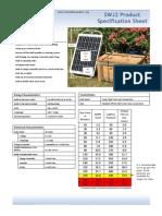 Stationary Solar Water Pump