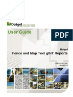 DFMT-UG-001 2.02 Datgel Fence and Map Tool GINT Reports User Guide
