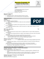 BFS1001 - Session 2 - Resume Templates to Help You for Your Assignment - Uploaded Onto IVLE