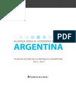II Plan de Acción Nacional de Gobierno Abierto 2015-2017
