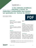 Validacion De Dos Metodos Analiticos-4835527