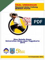 Proposal Invitasi Atma Jaya Terbuka 2015