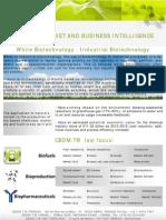CBDMT - Market and Business Intelligence - White Biotechnology
