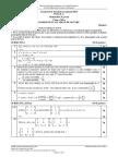 Barem Simulare BAC 2016 Matematica M St-nat XII