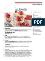 Vegane Himbeer Cupcakes