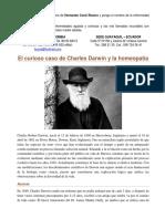 El Curioso Caso de Charles Darwin y La Homeopatía
