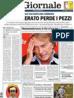 Il Giornale - Feltri e lo sciopero del Corriere